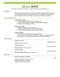 internship resume exles best internship resume exle livecareer