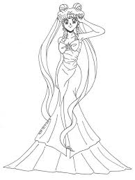 barbie thumbelina coloring pages princess serenity coloring pages free printable bprincess
