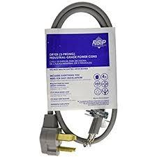 amazon com whirlpool pt400l 4 feet 4 wire 30 amp dryer power cord