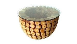 Wohnzimmertisch New York Teakholz Couchtisch Teak Holz Bowl Tisch Wohnzimmertisch