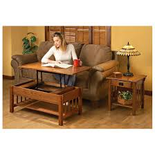 Wellington Lift Top Coffee Table Mission Style Lift Top Coffee Table