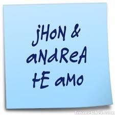 imagenes que digan te amo jhon jhon andrea te amo jhonmosquera12 twitter