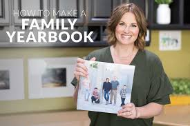 make yearbook becky higgins how to make a family yearbook