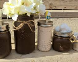 country bathroom decor mason jar bathroom set rustic bathroom
