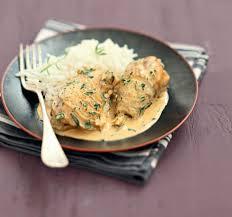 cuisiner le poulet recette poulet à l estragon