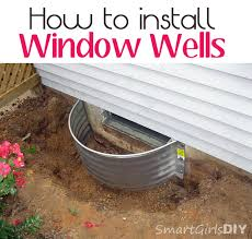 Basement Window Installation Cost by How To Install Window Wells