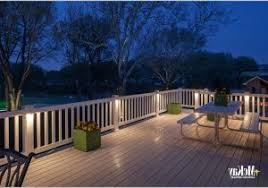 outdoor deck led lighting warm outdoor and patio led strip light