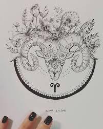 best 25 aries tattoos ideas on pinterest aries ram tattoo