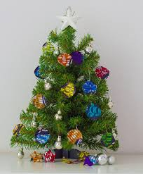 merry from all things ankara diy tree decorations