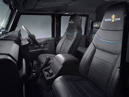 land rover defender interior land rover reveals rugby world cup defender