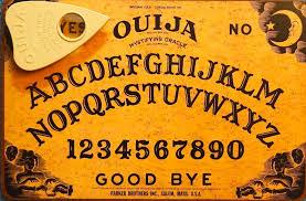 Ouija Board Coffee Table by Spirit Board Night Alchemy Arts