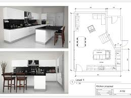kitchen design with island and bar plan layout tool small