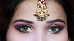 pakistani bridal makeup dailymotion traditional indian pakistani bridal makeup tutorial pink gold and