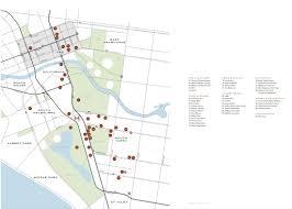 Royal Botanical Gardens Melbourne Map Location