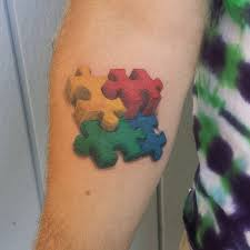 60 wonderful autism tattoo ideas showing awareness and honor