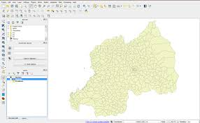 Map Of Rwanda 3 1 Geohealth Mapping Gis Training