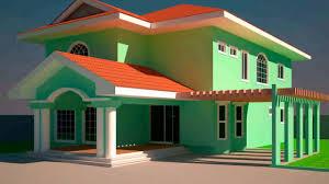 5 bedroom house plans in ghana youtube