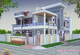 Simple Roof Designs by India House Design Indian Flat Roof Villa In 2305 Sqfeet Kerala