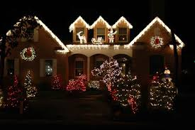 beautifully decorated homes beautiful christmas lights on houses ne wall