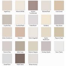 neutral colours vinyl soft sheen mixed pastel colours
