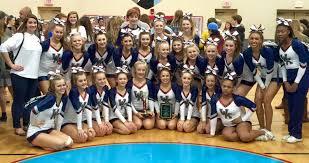 white knoll girls varsity competitive cheer team home white