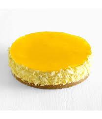 Kek Mango cheesecake birthday cake frozen cake malaysia delivery cat the