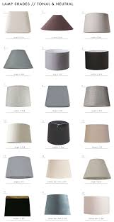 the surprising value of colored textured or patterned lampshades