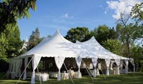 heated tent rental home