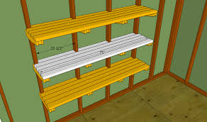 Wood Shelving Plans Garage by Wooden Shelves Plans Garage Friendly Woodworking Projects