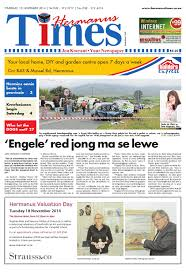 hermanus times 13 11 2014 by hermanustimes issuu