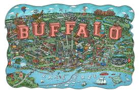 Map Buffalo Mario Zucca Buffalo News Features Buffalo Map