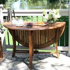 folding patio dining table folding patio dining table round eucalyptus outdoor folding table