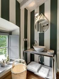 Striped Wallpaper Bathroom Spooky Misty Forest Wall Mural U2022 Pixers U2022 We Live To Change
