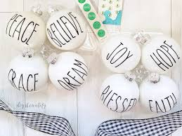 dunn inspired ornaments diy beautify