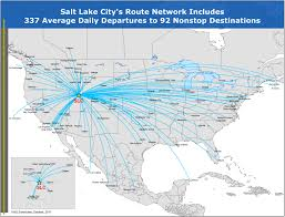 Washington Dc Airports Map by Flight Schedule Salt Lake International Airport