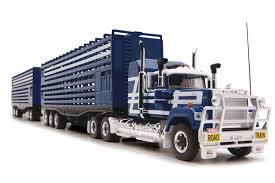 mack trucks highway replicas 12003 mack truck livestock road train dolly