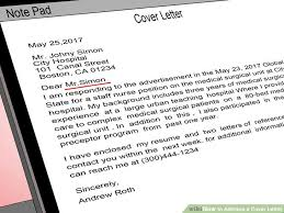 9 how to address a cover letter without a contact person cover