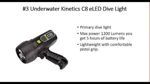 best primary dive light the 3 best dive lights youtube