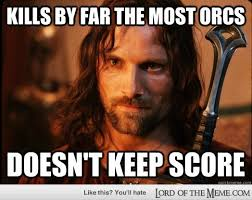 Lord Of The Meme - image aragorn dominating jpg the lord of the rings minecraft