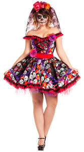 day of the dead costume size of the dead costume plus size day of the dead