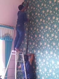 wallpaper dinding murah cikarang jasa pasang wallpaper gorden di citra raya tangerang banten jakarta