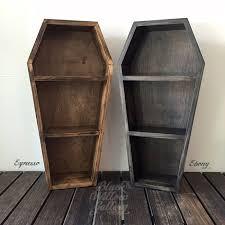 coffin bookshelf 27 coffin shelf black willow gallery