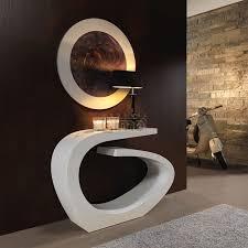 meubles entrée design console entrée design moderne laque miroir assorti plusieurs finitions