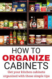 how to organize kitchen cabinets with food 5 ways to organize food cabinets organizing kitchen