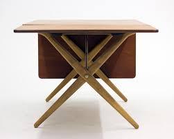 Oak Dining Room Furniture by Crosslegged Teak U0026 Oak Dining Table By Hans J Wegner For Andreas