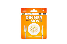 dinner and a gift card darden fandango dinner and gift card for two 50 bulb
