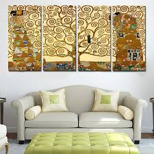 3 piece sell modern oil wall painting orchid flower home
