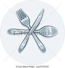 fourchette cuisine fourchette ustensiles cuillère couteau cuisine clipart