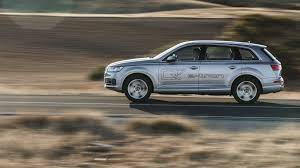 audi jeep 2016 audi q7 e tron 2016 plug in hybrid review by car magazine