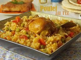 cuisine maghrebine riz au poulet cuisine algerienne recette riz cuisines et poulet